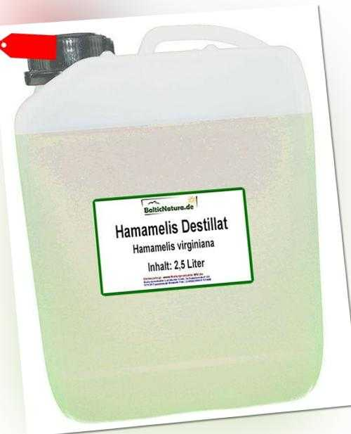 (23,98 EUR/1000 ml) Hamamelisdestillat (2,5 l) Destillat Hamameliswasser