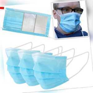 Atemschutzmaske 3 Lagig Maske Mundschutz Atemschutz Gesichtsmaske Schutzmaske