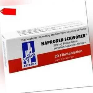 NAPROXEN Schwörer Filmtabletten 20 St 04377144