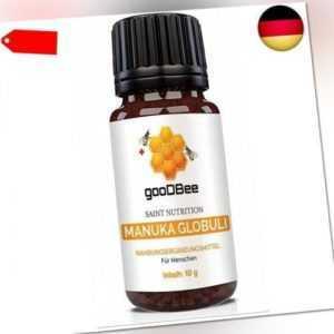 Manuka Honig Globuli   Radionisch informiert mit 400 MGO*   Methylglyoxal