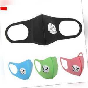 Kinder Anti-Staub maske Mund Staubmaske Atemschutz Waschbare Baumwolle Masken