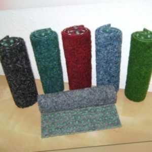 Kunstrasen Rasenteppich 200 cm Breite verschiedene Längen in 6 Farben mit Noppen