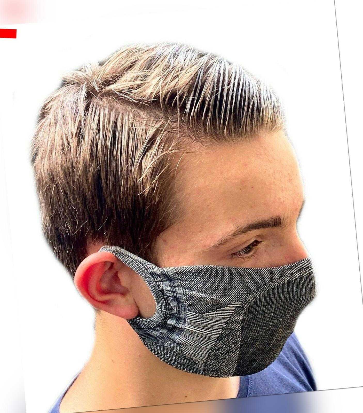 COMMUNITY-MASKE Behelfs-Mundschutz wiederverwendbar Behelf-Mund-Nasen-Maske