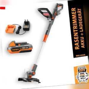 FUXTEC Rasentrimmer 20V mit Akku FX-E1RT20 Motorsense Freischneider Elektro