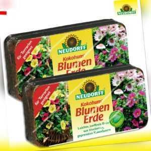 Neudorff Kokohum 2 Briketts BlumenErde (à 7 Liter)
