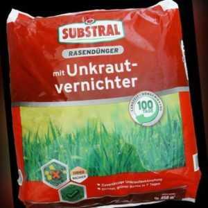 Celaflor Substral Rasendünger mit Unkrautvernichter 9 kg NPK Langzeitwirkung