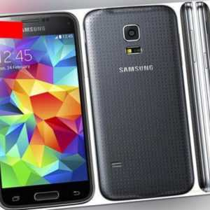 Samsung Galaxy S5 mini Charcoal Black - Sehr Gut Android...