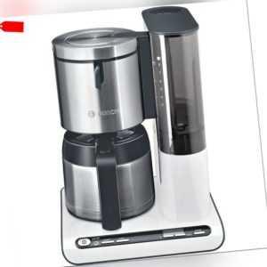 Bosch Thermo-Kaffeeautomat Styline TKA8651 - weiß mit Edelstahl -...