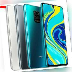 "Xiaomi Redmi Note 9S 64GB 4GB 6.67""Handy Smartphone 5020mAh 48MP Globale Version"