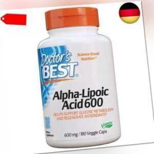 Doctor's Best   Alpha-Lipoic Acid (Alpha-Liponsäure)   2 Tage Dosis   600mg