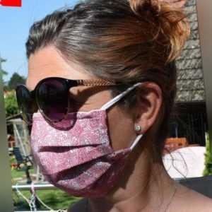 Maske Mund Nasen Gesichtsmaske Behelfsmaske waschbar Kinder Behelfs-Mundschutz