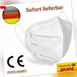 Atemschutzmaske FFP2 KN95 Maske Mundschutz Filtermaske Atemschutz Schutzmaske