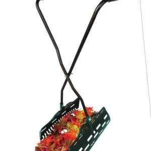 UPP Laubgreifer ergonomisch grün/ Laubsammler/ Laubschaufel/ Laub- + Graspicker