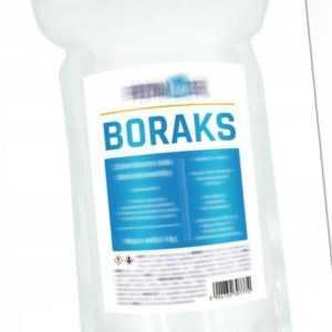 1kg Borax 99,99% Beste Qualität Natriumborat !MULTI-RABATT! !Schnell Versand!