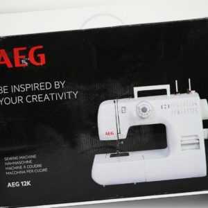 Silva-Homeline AEG Freiarm Nähmaschine 22 Nähprogrammen für Anfänger geeignet