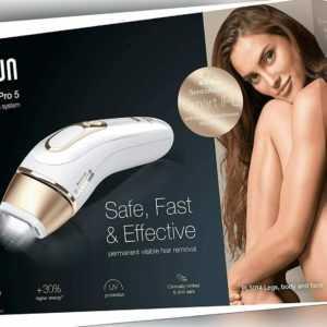 Braun Silk-Expert Pro 5 PL5014 IPL-Haarentfernungsgerät – Dauerhafte Haare
