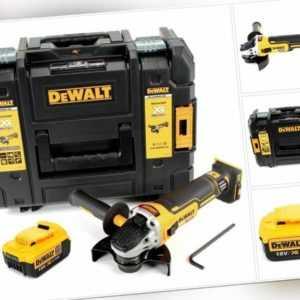 DeWalt DCG 405 NT Akku Winkelschleifer 18V 125mm Brushless + 1x Akku 4Ah + TSTAK