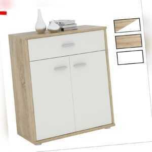 Kommode Sideboard Schrank Anrichte versch. Farben mit Schublade Design