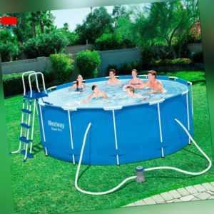 Pool mit Gestell Steel Pro  366 x 122 cm 10250 l 6 in 1 BESTWAY
