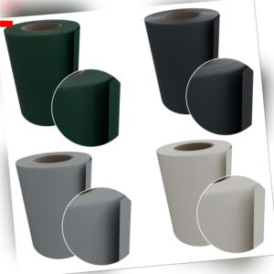 PVC Sichtschutzstreifen Zaunfolie Sichtschutz Doppelstabmatten grau grün 35m