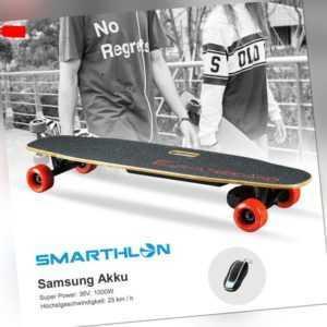 1000W Max 25km/h Elektro-Longboard Elektro Skateboard Elektroroller E-Board DE