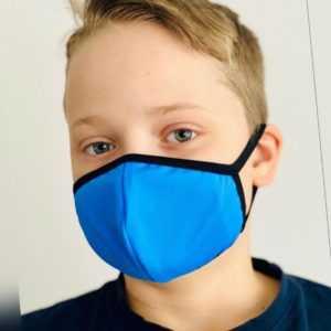 Mundmaske für KINDER Einlagetasche waschbar wiederwendbar Hygniemaske Nasenmaske