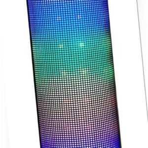 LED Party Bluetooth Lautsprecher Radio Box USB SD AUX MP3 Player Akku Freisprech