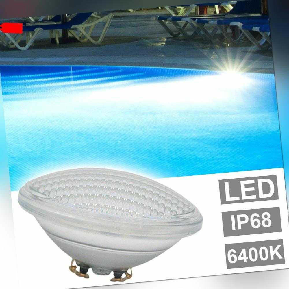 LED Pool Leuchtmittel 6400K Schwimm Bad Becken Beleuchtung Scheinwerfer Lampen