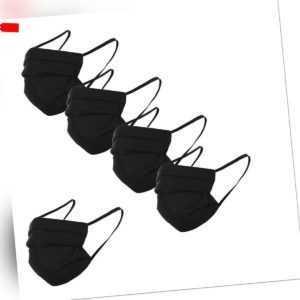 3/5x Mundschutz Filter Wiederverwendbare Maske Stoffmaske Waschbar Atemschutz 57