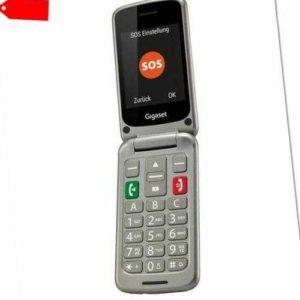 Gigaset GL590 - Klapp-Handy ohne Vertrag für Senioren, Körgerätekompatibel