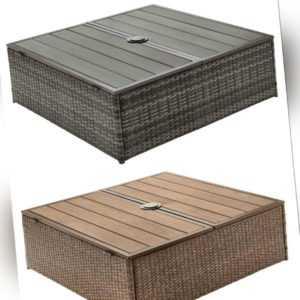 Garden® Geflecht Schirmständer Balkon  Garten Verkleidung Tisch Stauraum