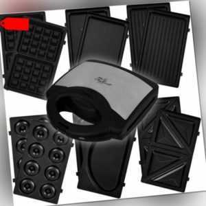 6 in 1 Multifunktions-Maker Waffeleisen Sandwichmaker Kontaktgrill...