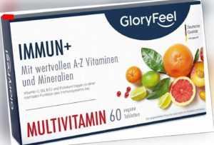 Multivitamin A-Z 60 Tabletten Multivitamin hochdosiert Vitamine Mineralien vegan