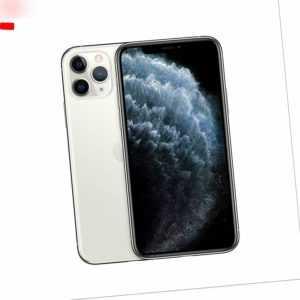 Apple iPhone i11 Pro 64GB - Silber (Ohne Simlock) A2215 versiegelt OVP NEU
