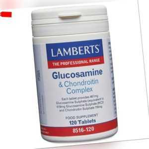 Lamberts Glukosamin & Chondroitin Komplex, 120 Tabletten