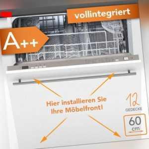 Geschirrspüler Einbau Spülmaschine A++ vollintegriert 60cm...
