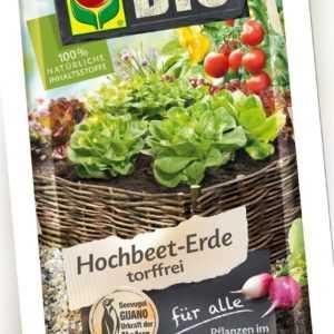 COMPO SANA® BIO Hochbeet-Erde 20 Liter torffrei