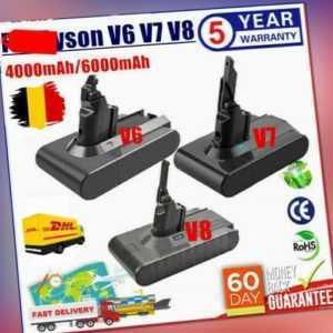 4,0AH 6 AH Akku Batterie Für Dyson V8 V7 V6 Vakuum Handstaubsauger Sony Cell Neu