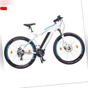 """NCM Moscow Plus 48V 29"""" E-MTB Mountainbike E-Bike 16Ah 768Wh Panasonic Akku weiß"""