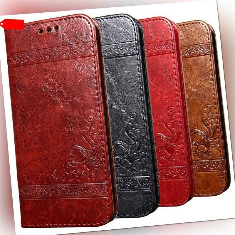 Für Xiaomi Handy Hülle Leder Magnet Schutz Tasche Case Cover Klapptasche Flip