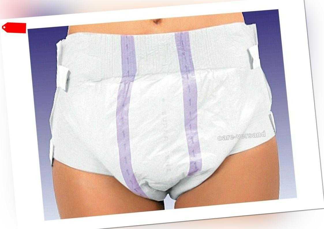 Super Seni Plus 10er Päckchen Windeln Erwachsene Einmalwindel XS-XL Inkontinenz