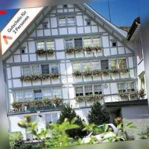 Kurzreise Schweiz nahe Bodensee 3 Tage für 2 Personen Bio Hotel Appenzeller Hof