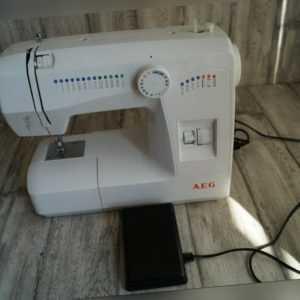 Nähmaschine AEG 11220