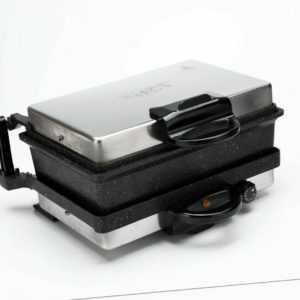 Shov Multigrill Kontaktgrill mit Kasserolle Toaster Granit...