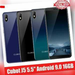 Cubot J5 3G 5.5in Smartphone 2GB+16GB Android Dual SIM 5MP Handy Ohne Vertrag