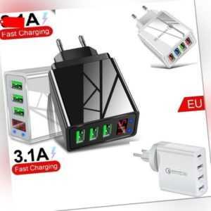 48W Schnellladegerät 3.0 USB-Ladegerät dapter für Android iPhone EU-Stecker
