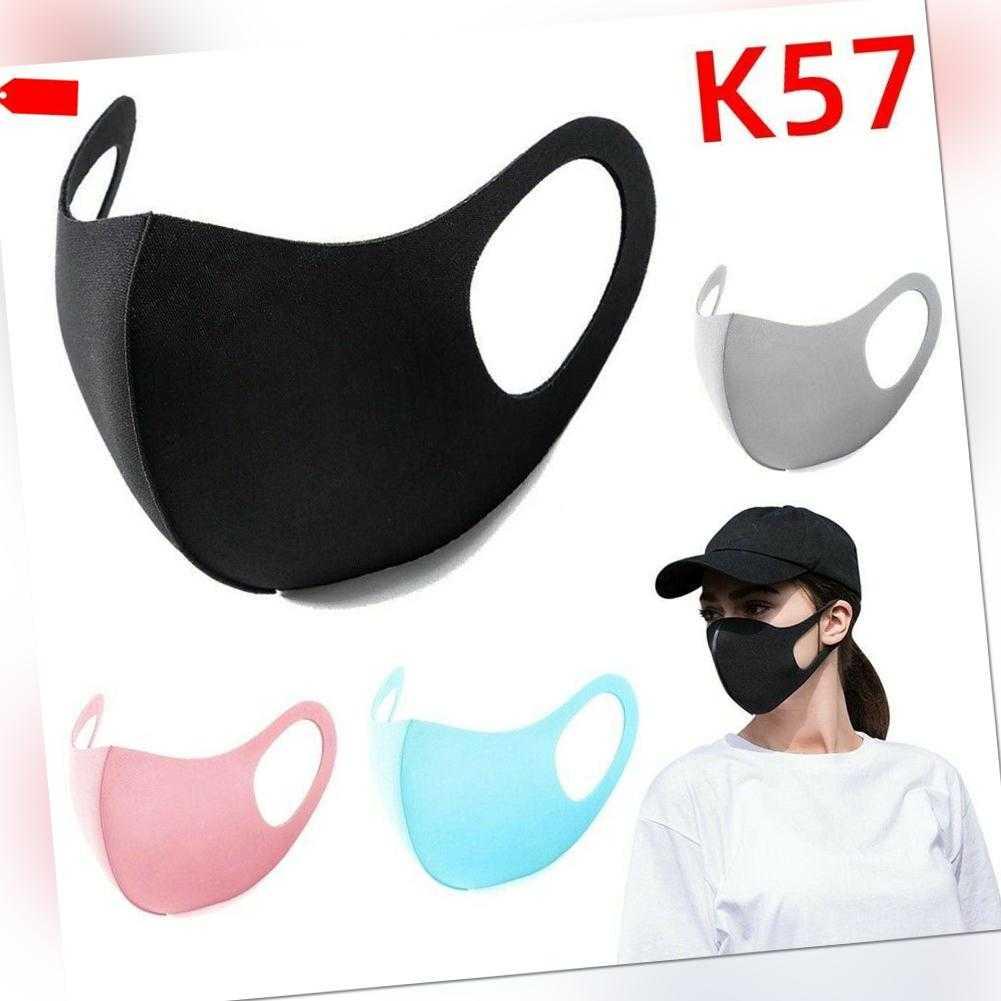 Alltagsmaske Behelfsmundschutz Mundbedeckung Staubmaske Maske Mund Gesicht Maske