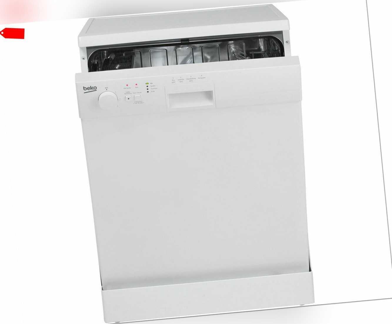 Beko DFL1442 Geschirrspüler Freistehend 60cm Weiß Neu; EEK A+++