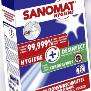 SANOMAT HYGIENE Desinfektions, Waschmittel, Versandkostenfrei, Pulver, 4,05kg