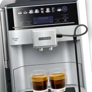 Siemens EQ.6 plus s300 1500W Kaffeevollautomat - Silber...
